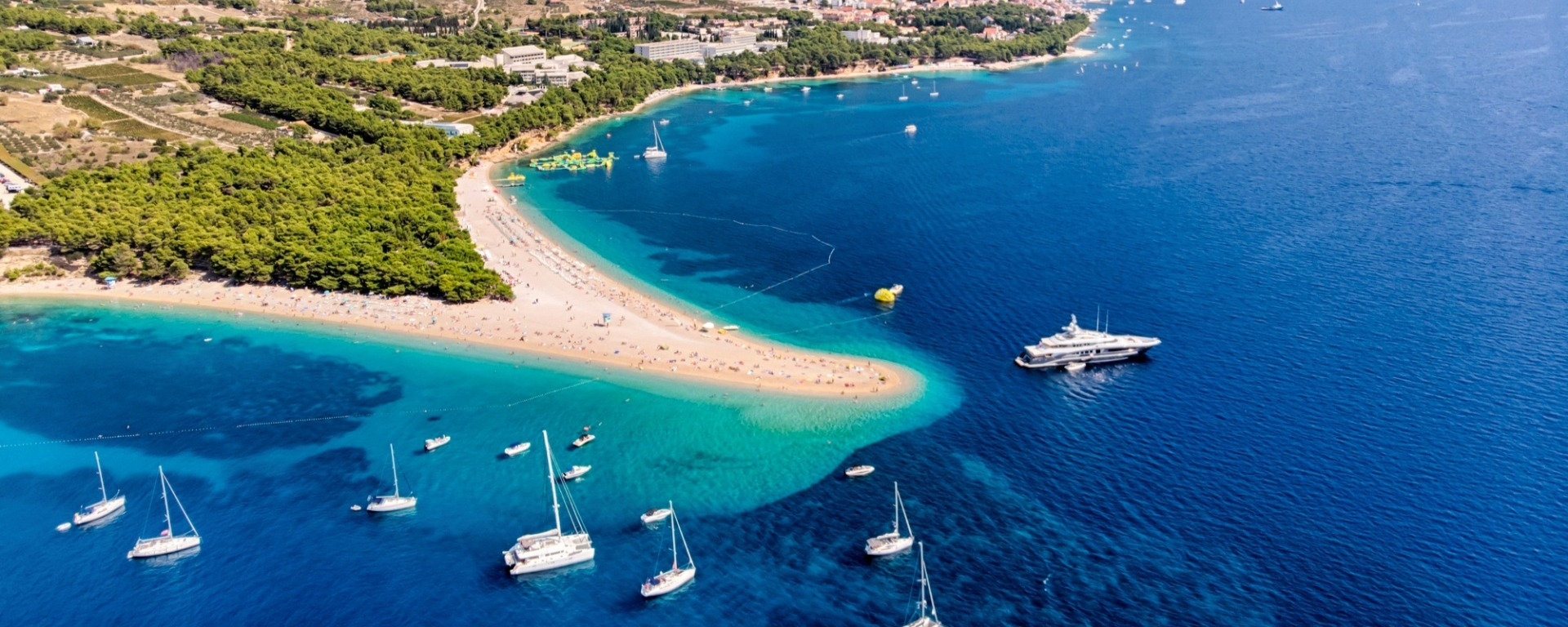 Six of Croatia's best island destinations for beaches, food