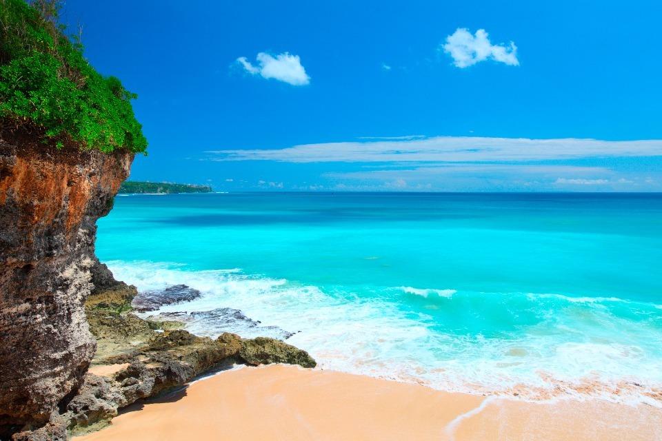 Pedang beach in Bali, Indonesia