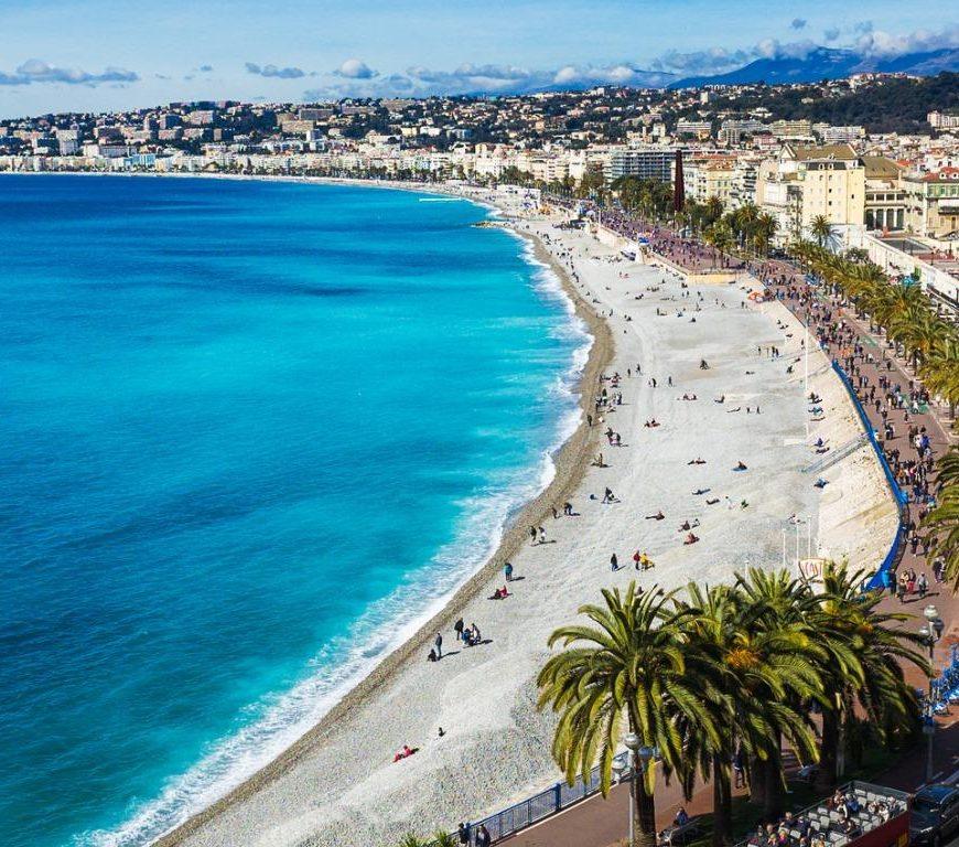 Promenade in Nice